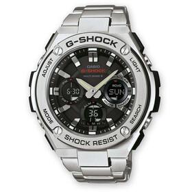 CASIO G-SHOCK GST-W110D-1AER Zegarek Mężczyźni, silver/white silver/white black